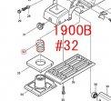 コンプレッションスプリング18  1900B,KP180D等対応
