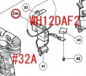 DCスピードコントロールスイッチ 日立WH12DAF2用