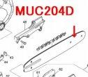 ガイドバー8 MUC204D用