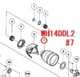 日立(HiKOKI)  WH14DDL2,WH18DDL2用 ハンマーケース