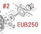 EUB4250,EUB4250SP,EUB250用 ガスケット