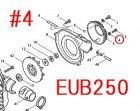 EUB250等用 フラットワッシャ6