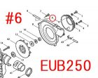 EUB4250,EUB4250SP,EUB250等用 Oリング3