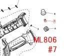 ML806,ML806Y用 スイッチロッド