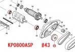 Vプーリ4-37 KP0800A/SP,M194用