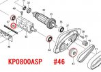 ボールベアリング608ZZ KP0800A/SP,M191等用