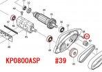 Vプーリ4-20L KP0800A/SP,M194用