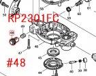 ハーフナットコンプリート RP1801,RP2301FC等用
