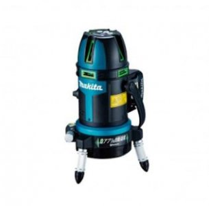 充電式屋外屋内兼用 レーザー墨出し器SK507GDZ(受光器バイスケース付)