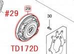 TD172D,TD162D用 ベアリングボックスコンプリート