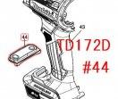 TD172D,TD162D用 スイッチプレートコンプリート