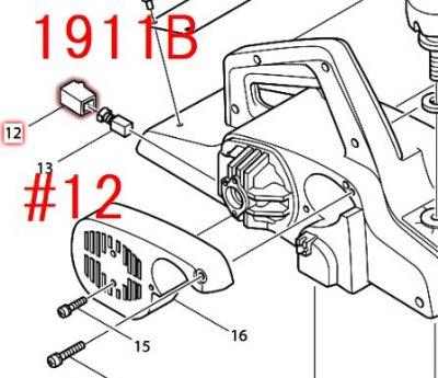 ブラシホルダ6-10   1911B,1911BSP(替刃式),M192(替刃式)用