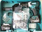 18V充電式震動ドライバドリル HP458DRFX