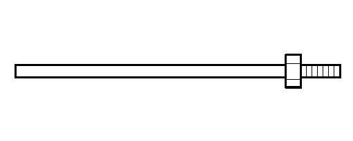 シャフト(ステンレス・ネジ込み式) UT1303,4,5用 A-43751