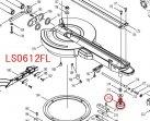 アジャストボルトM8×27 LS0613FL,LS0713FL,LS0814FL等対応
