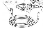 MHW720用高圧ホース16m