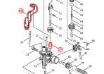 コンタクトアーム 現行型+コンプレッションスプリング6+シンワッシャ6