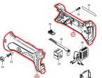 ハウジングセット品 GA400D,PJ140D等対応