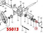フラットワッシャ6 AC6001,55013対応