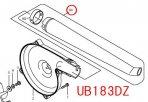 ガーデンノズル UB143D,UB183D標準付属品