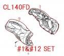 CL140FD用ハウジングセット品