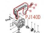 PJ140D,PJ180D用 グリップ