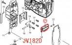 スライダー JV142D,JV182D用