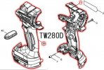 TW280D,TW284D用ハウジングセット品