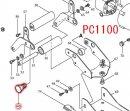 段付六角ボルトM12 PC1100用