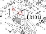 Oリング35 LS1011,LS0711,LS1030等対応