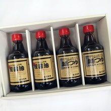 【セット】鰹醤油2本と麺つゆ2本
