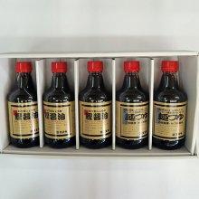 【セット】鰹醤油3本と麺つゆ2本