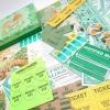 ジャンク雑貨 チケット、スコアパッドなどの紙物・紙モノ雑貨