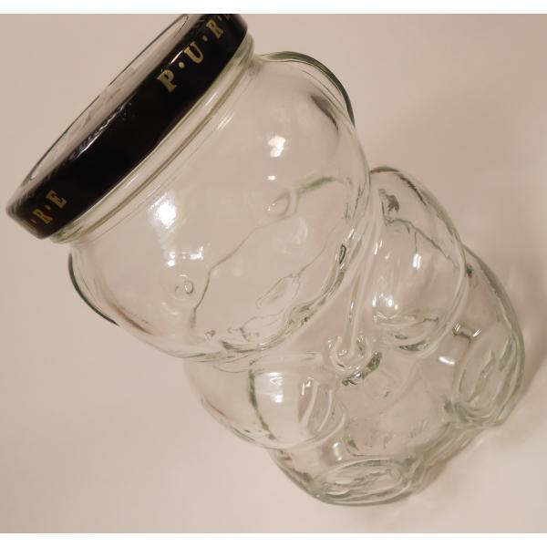 クラフト・赤ちゃんベア型ガラスジャー・容量500ミリリットル