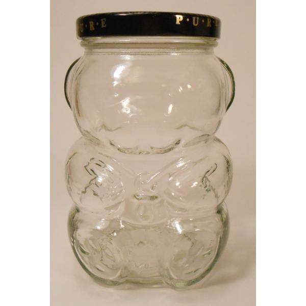クラフト・赤ちゃんベア型ガラスジャー・容量500ミリリットル【画像2】