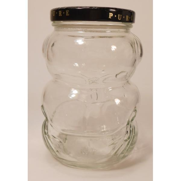 クラフト・赤ちゃんベア型ガラスジャー・容量500ミリリットル【画像4】