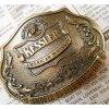 ベルトバックル ヴィンテージ・真鍮製・アメリカ・ベルトバックル・アメリカンウイスキー・Kessler