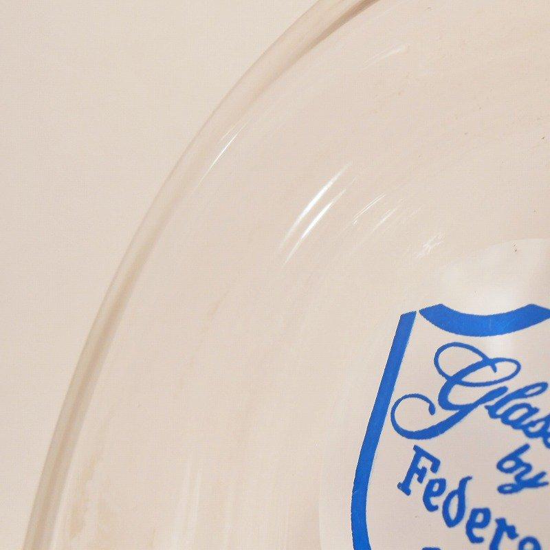 ヴィンテージ灰皿・フェデラルグラスロゴ`・アッシュトレイ【画像6】