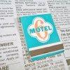 マッチブック ヴィンテージマッチブック・Motel 6