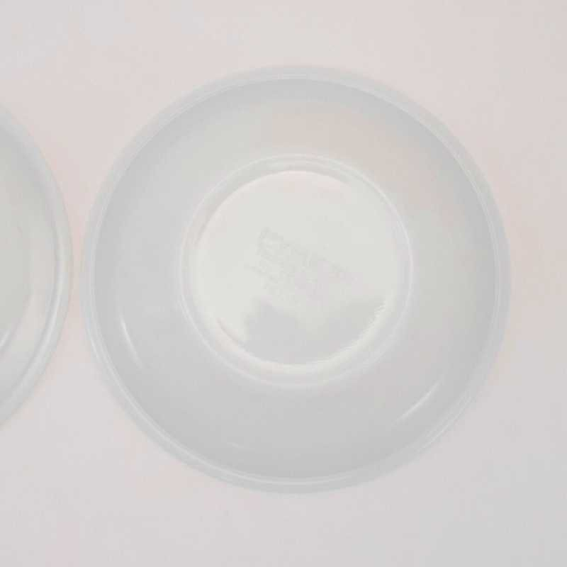 パイレックス・レストランウェア・グリーンダブルライン・フラットリムスープボウル・2個セット【C】【画像11】