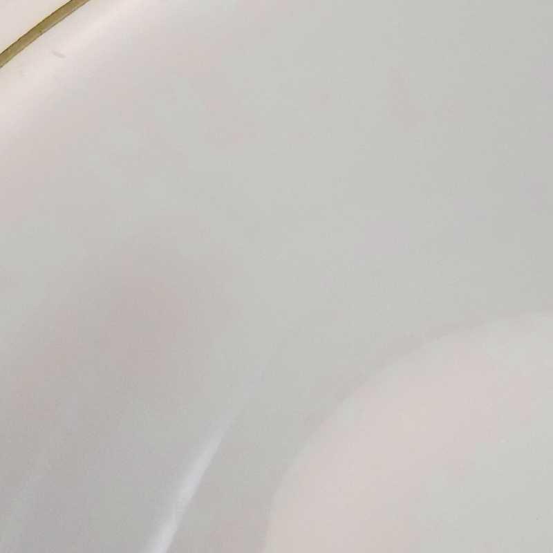 パイレックス・レストランウェア・グリーンダブルライン・フラットリムスープボウル・2個セット【C】【画像6】