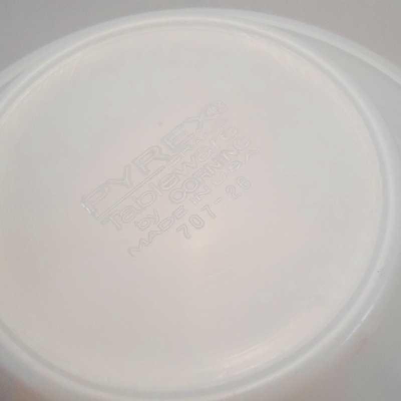 パイレックス・レストランウェア・グリーンダブルライン・フラットリムスープボウル・2個セット【C】【画像7】