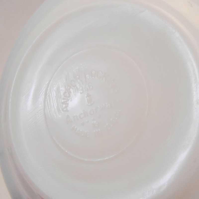 ファイヤーキング・アンカーホッキング917シリーズ・ダブルグリーンライン・カップ&ソーサー【C】【画像14】