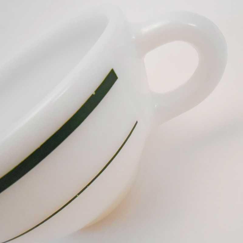 ファイヤーキング・アンカーホッキング917シリーズ・ダブルグリーンライン・カップ&ソーサー【C】【画像25】