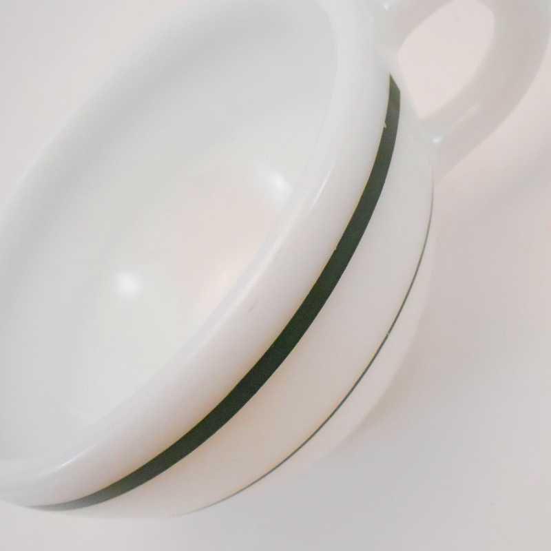 ファイヤーキング・アンカーホッキング917シリーズ・ダブルグリーンライン・カップ&ソーサー【C】【画像26】