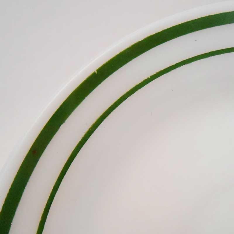 ファイヤーキング・アンカーホッキング917シリーズ・ダブルグリーンライン・カップ&ソーサー【C】【画像8】