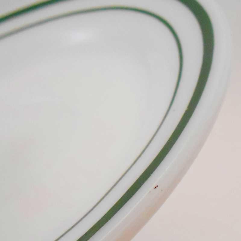 ファイヤーキング・アンカーホッキング917シリーズ・ダブルグリーンライン・カップ&ソーサー【C】【画像10】