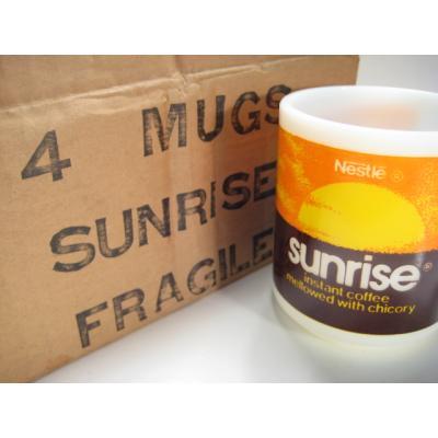 未使用・ヘーゼルアトラス・ネスレ・Nestle Sunriseマグ