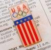 オリンピック ヴィンテージピンズ・アメリカ・USAオリンピック・長方形