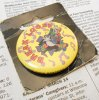 キャラクター ヴィンテージ缶バッチ・ディズニー・ミッキーの仲間・台紙付・ドナルドダック